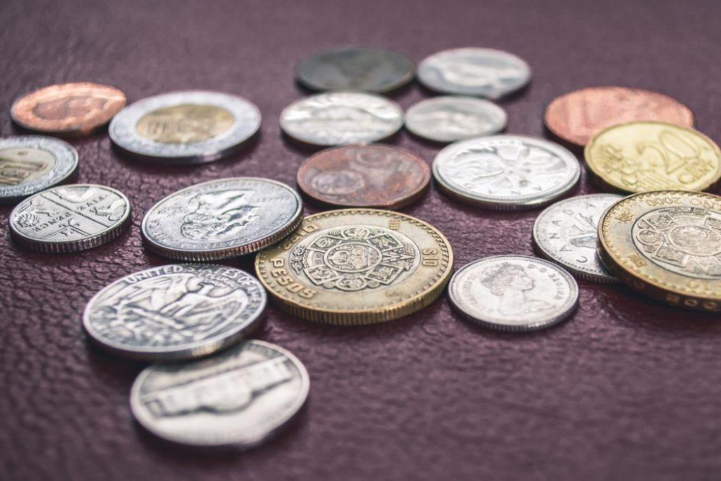 Coins representiing secured vs unsecured loans